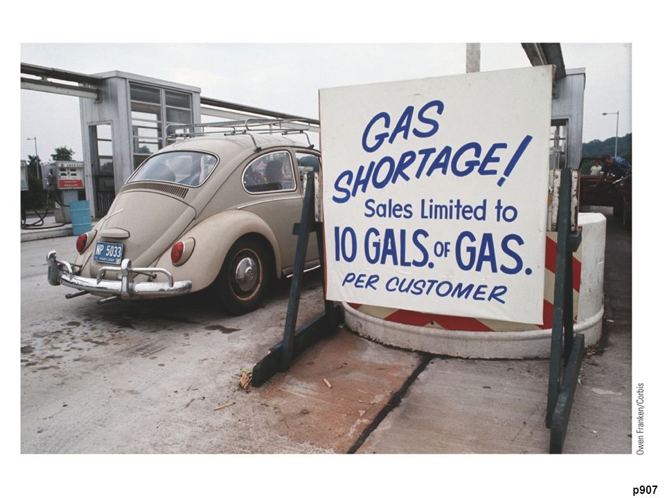 The U.S. Economy Runs Out of Gas At filling stations across the country,
