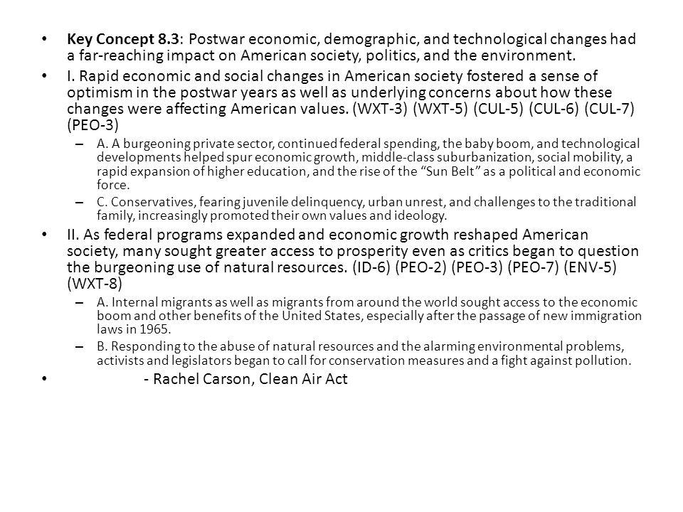 - Rachel Carson, Clean Air Act