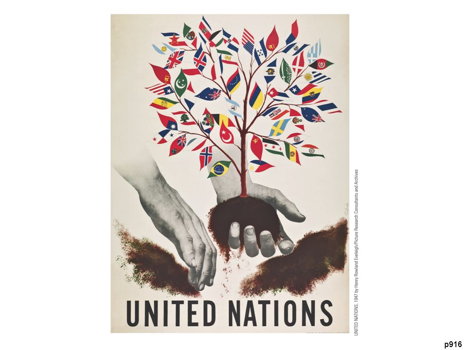 Great Hopes for World Peace with the United Nations, 1947 The