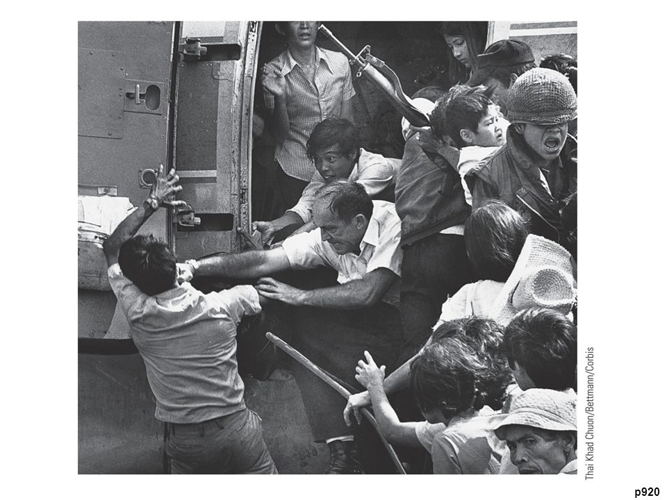 The Last Days of Saigon Violence often attended the frantic