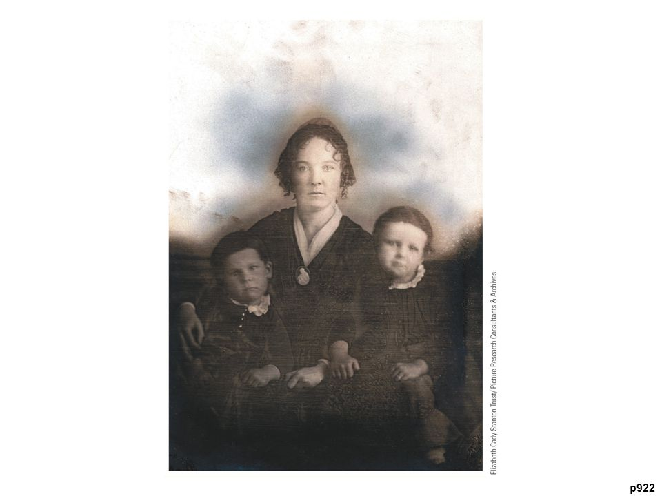 Elizabeth Cady Stanton (1815–1902) and Two of Her