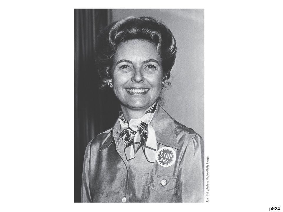 Antifeminist Phyllis Schlafly (b. 1924) Schlafly traveled