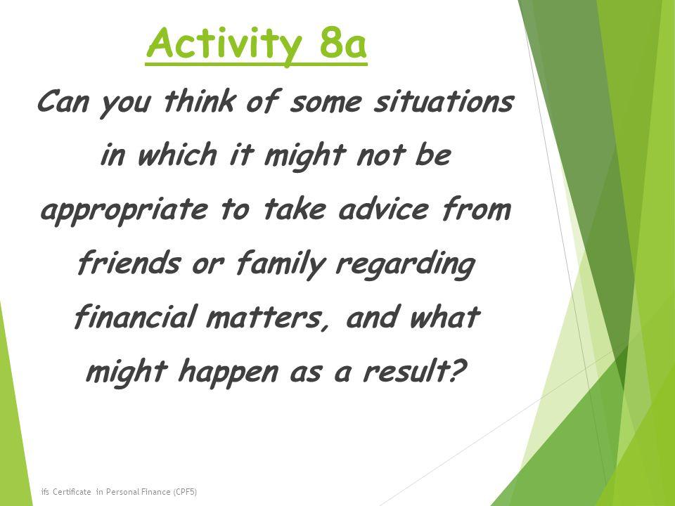 Activity 8a