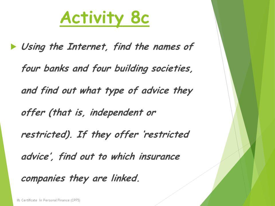Activity 8c