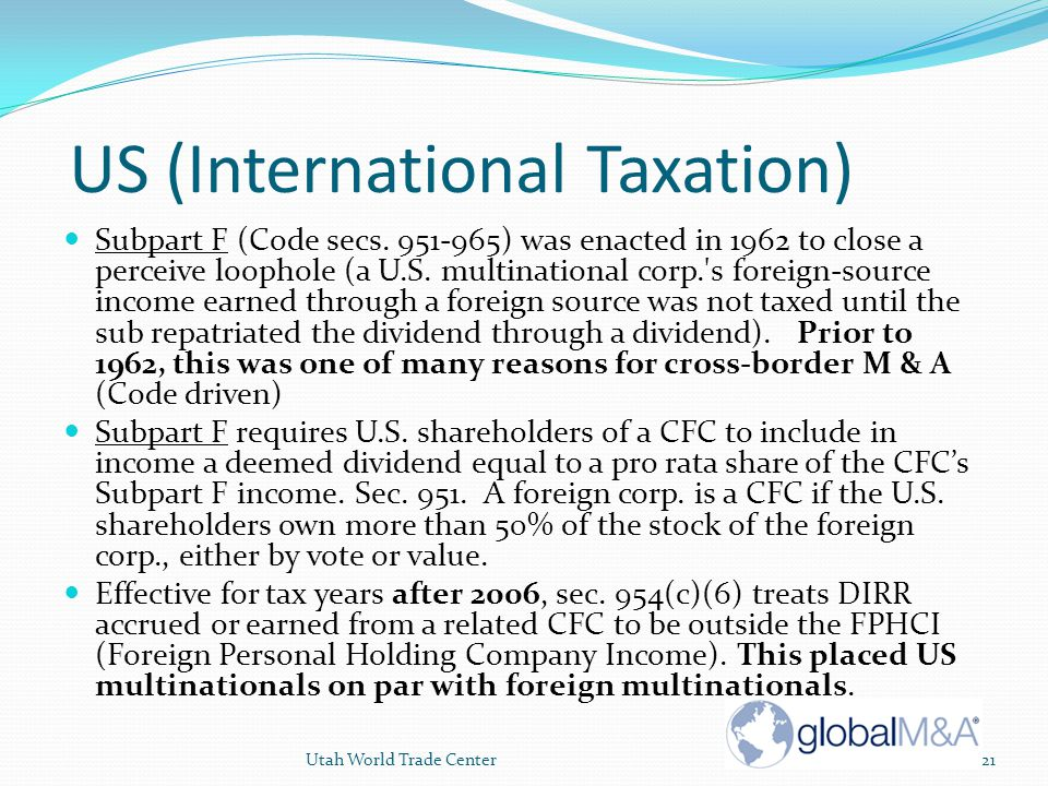 Understanding taxation of foreign investments  Investopedia