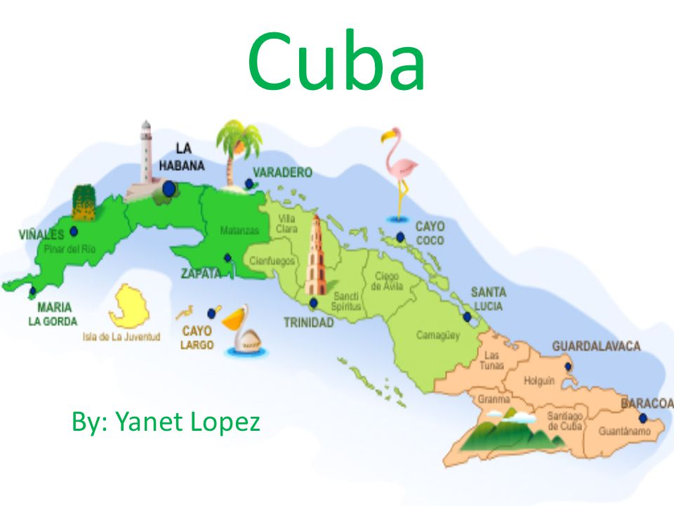 Cuba By: Yanet Lopez