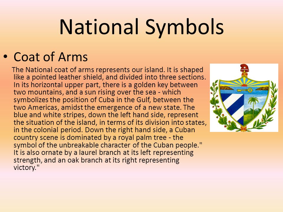 National Symbols Coat of Arms