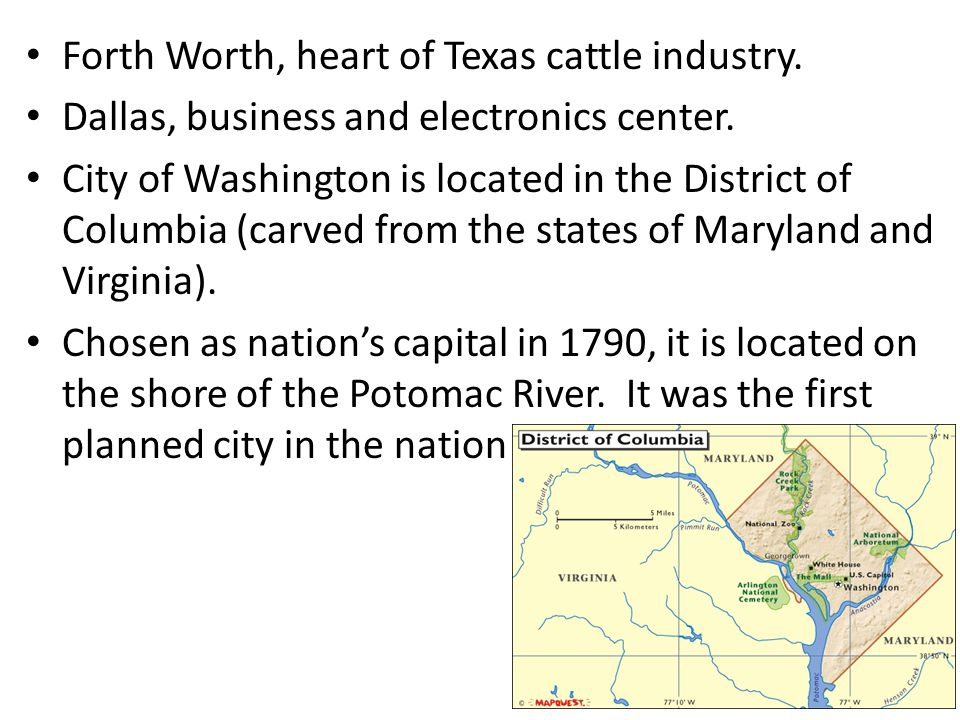 Forth Worth, heart of Texas cattle industry.