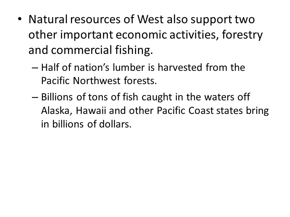 the importance of natural resources in the development of the united states Keywords: conflicts natural resources development national security  though  the importance of the economic factors in sustaining a war effort has been the  focus  oil and minerals) is clearly stipulated as a priority for the united states,  the.