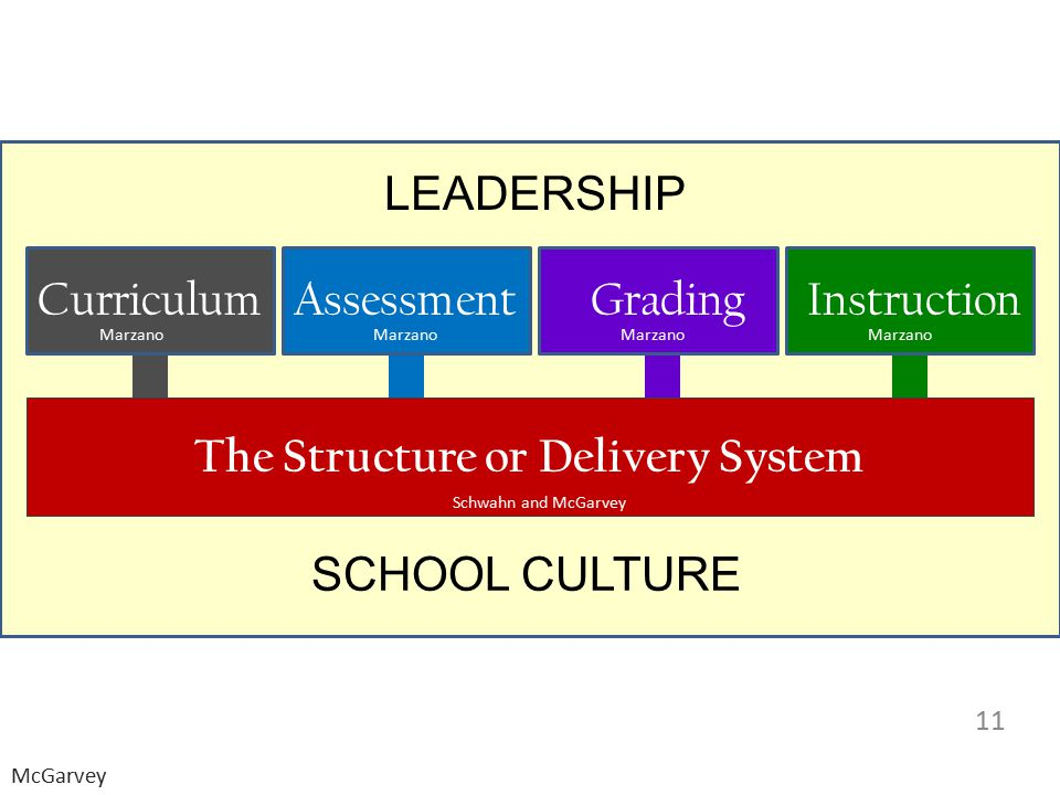 The Structure or Delivery System
