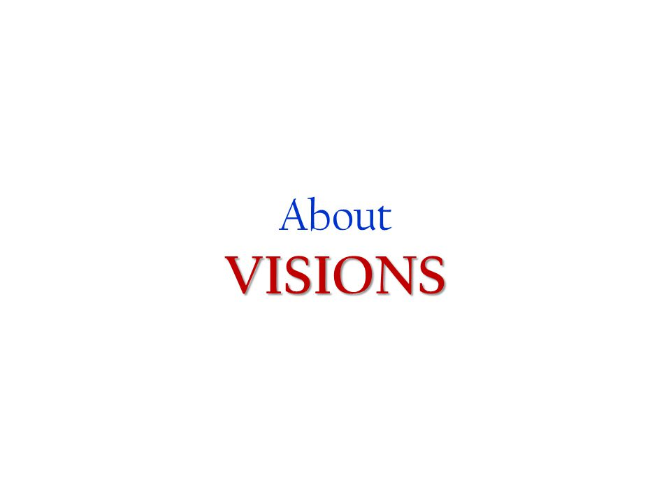 About VISIONS