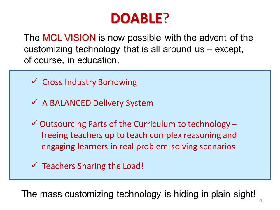 The mass customizing technology is hiding in plain sight!