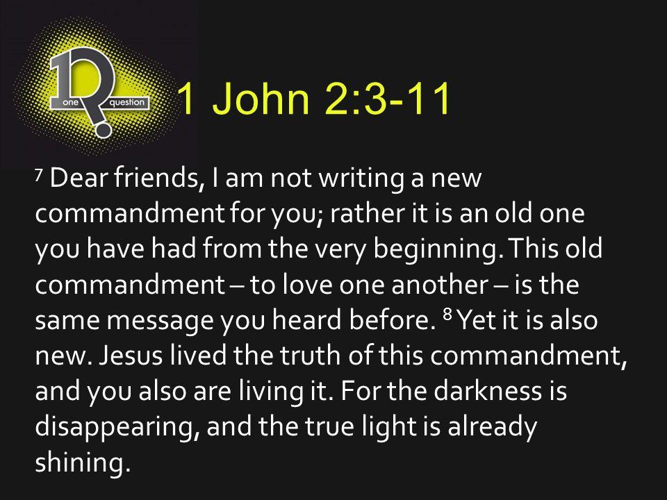 1 John 2:3-11