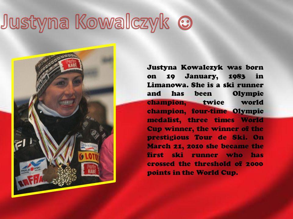 Justyna Kowalczyk ☺