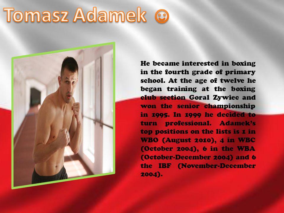 Tomasz Adamek ☺