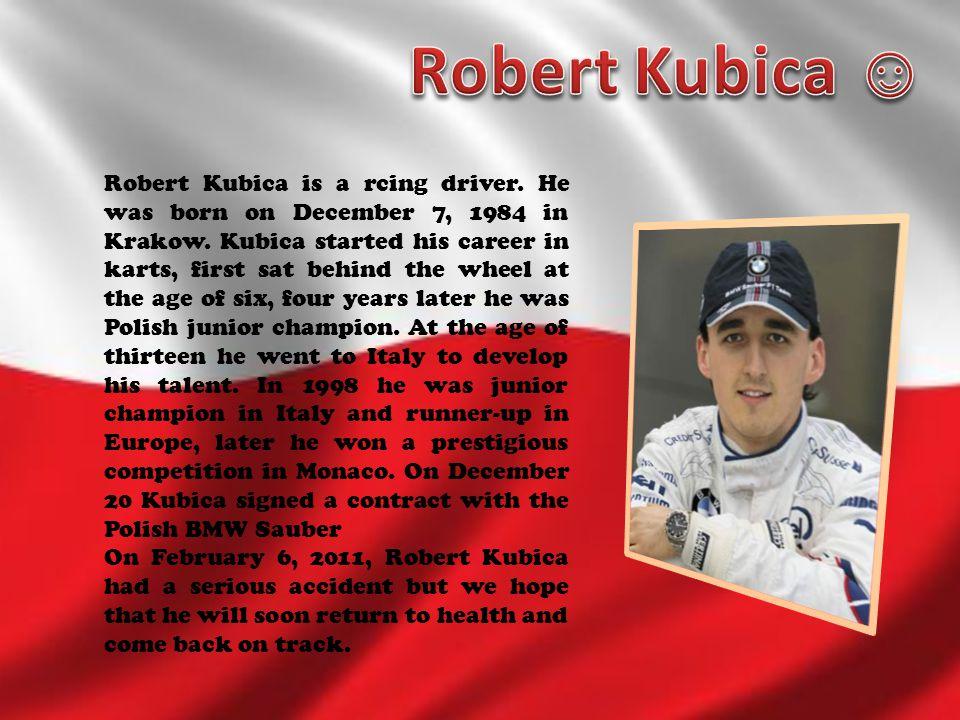 Robert Kubica ☺