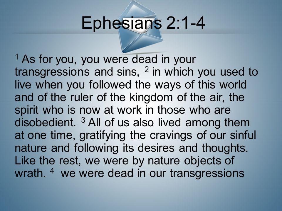 Ephesians 2:1-4