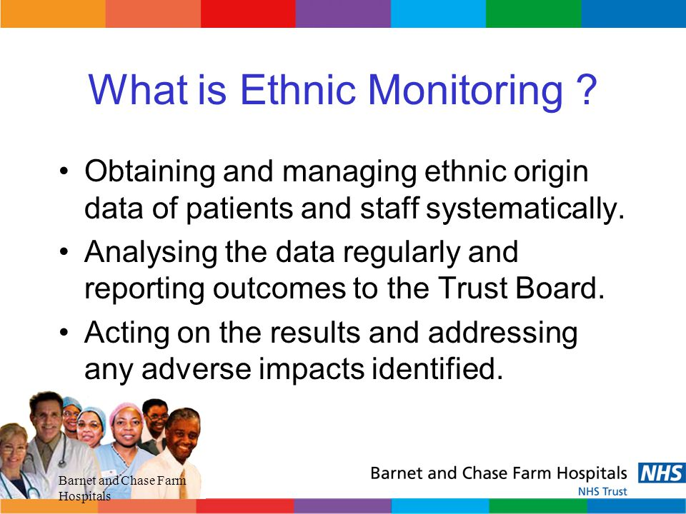 What is Ethnic Monitoring