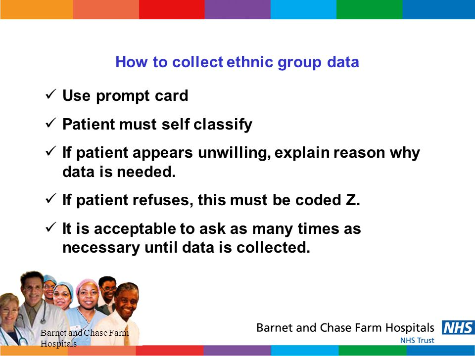 How to collect ethnic group data