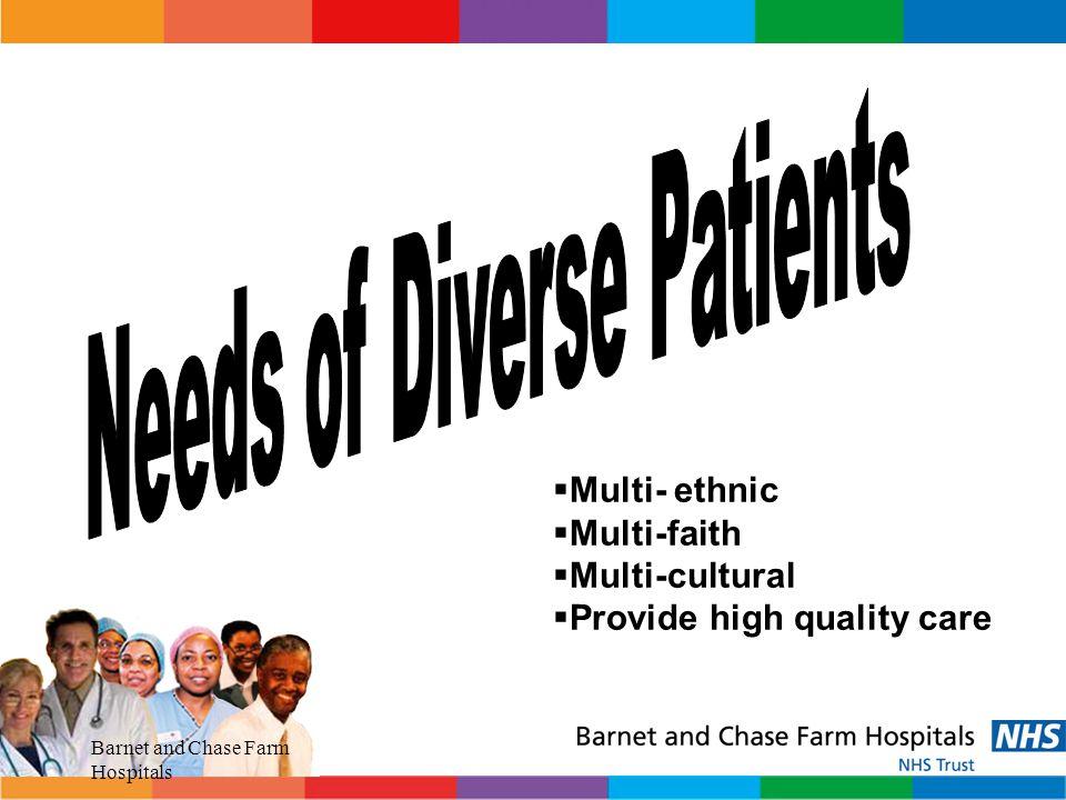 Needs of Diverse Patients