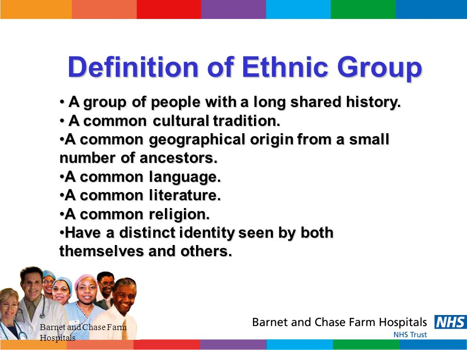 Definition of Ethnic Group