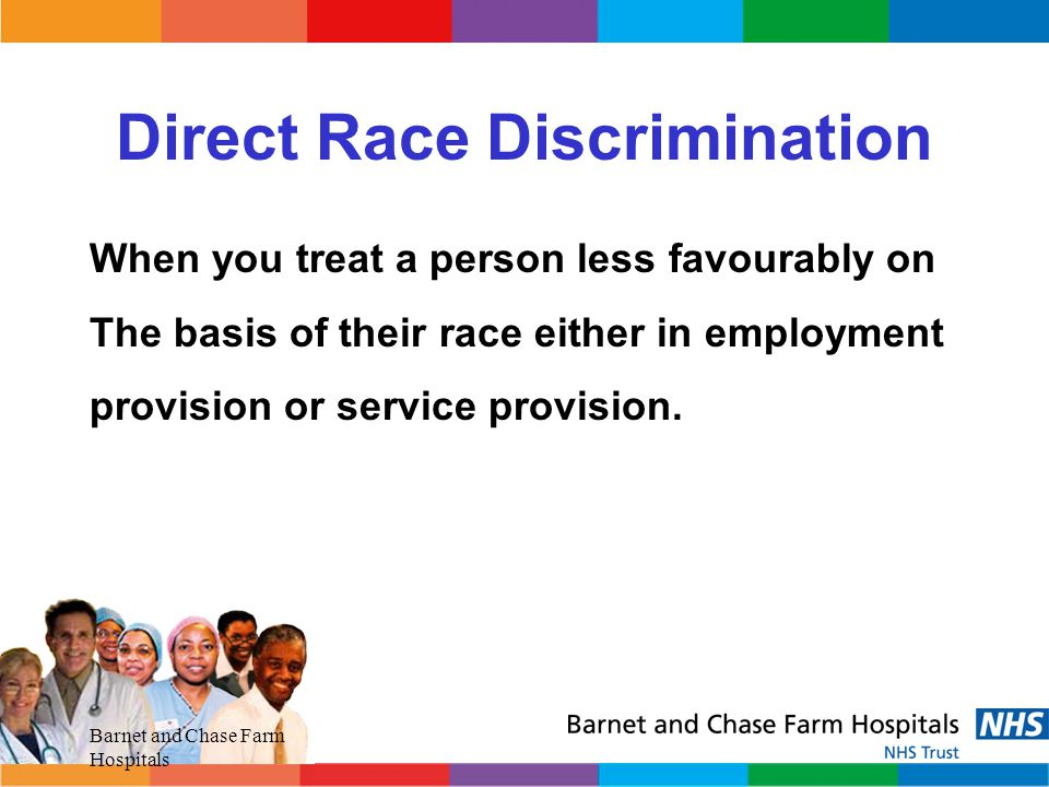 Direct Race Discrimination