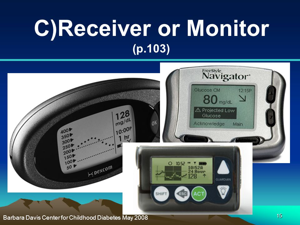 C)Receiver or Monitor (p.103)