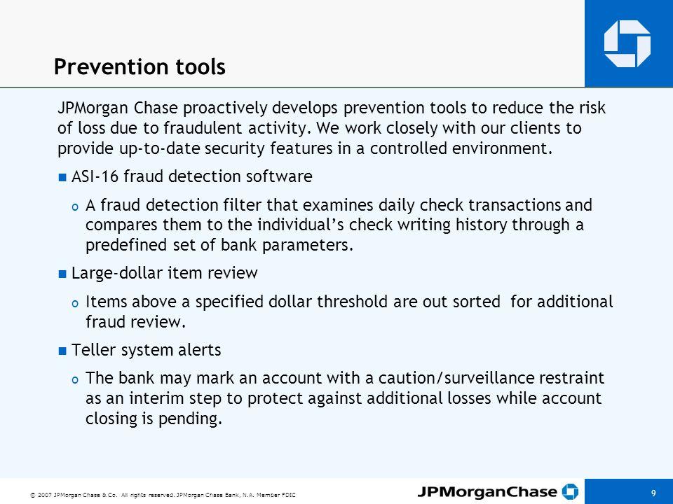 Prevention tools Multiple Identification
