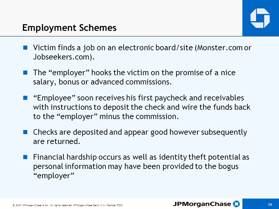 Why these schemes work Organized networks of professional (cons) are behind it. The pitch is very convincing.