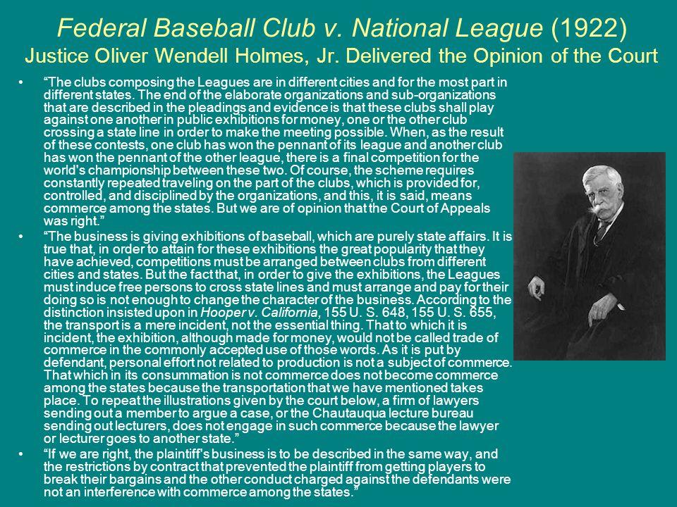 Federal Baseball Club v
