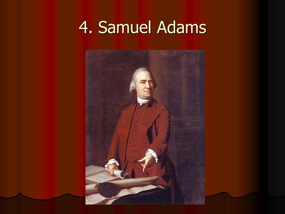 4. Samuel Adams