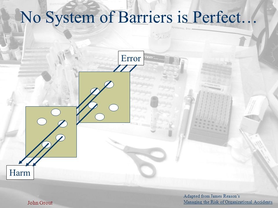 No System of Barriers is Perfect…