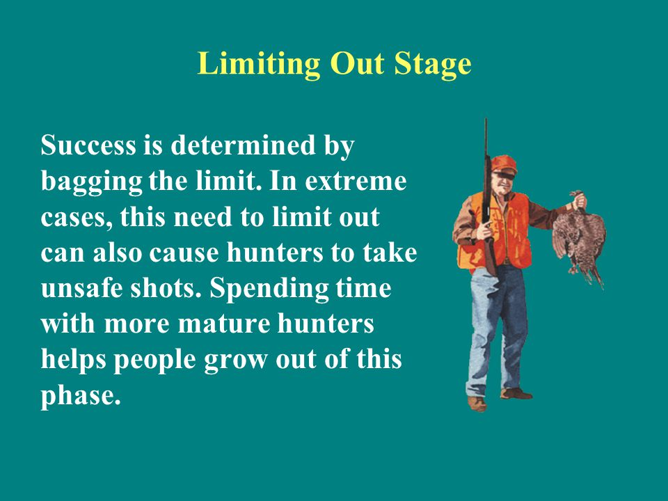Limiting Out Stage