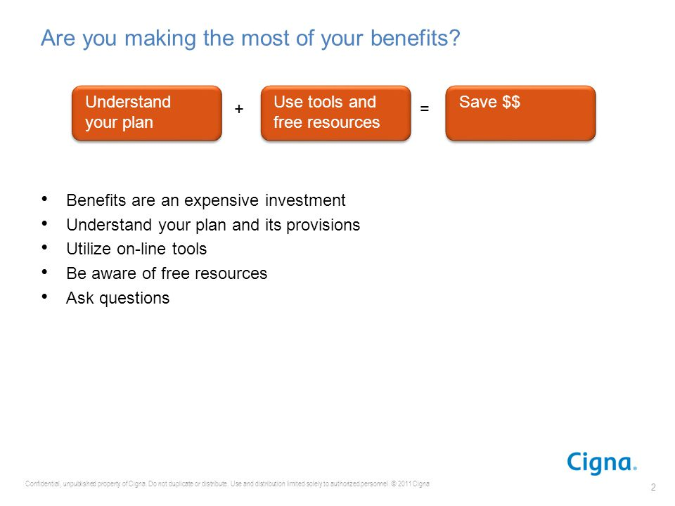Are you making the most of your benefits