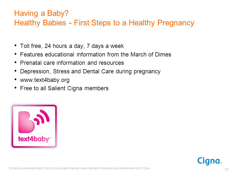 Having a Baby Healthy Babies - First Steps to a Healthy Pregnancy