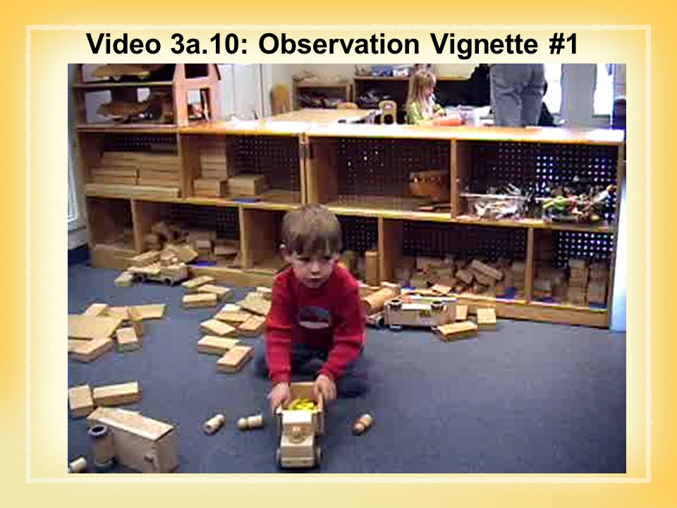 Video 3a.10: Observation Vignette #1