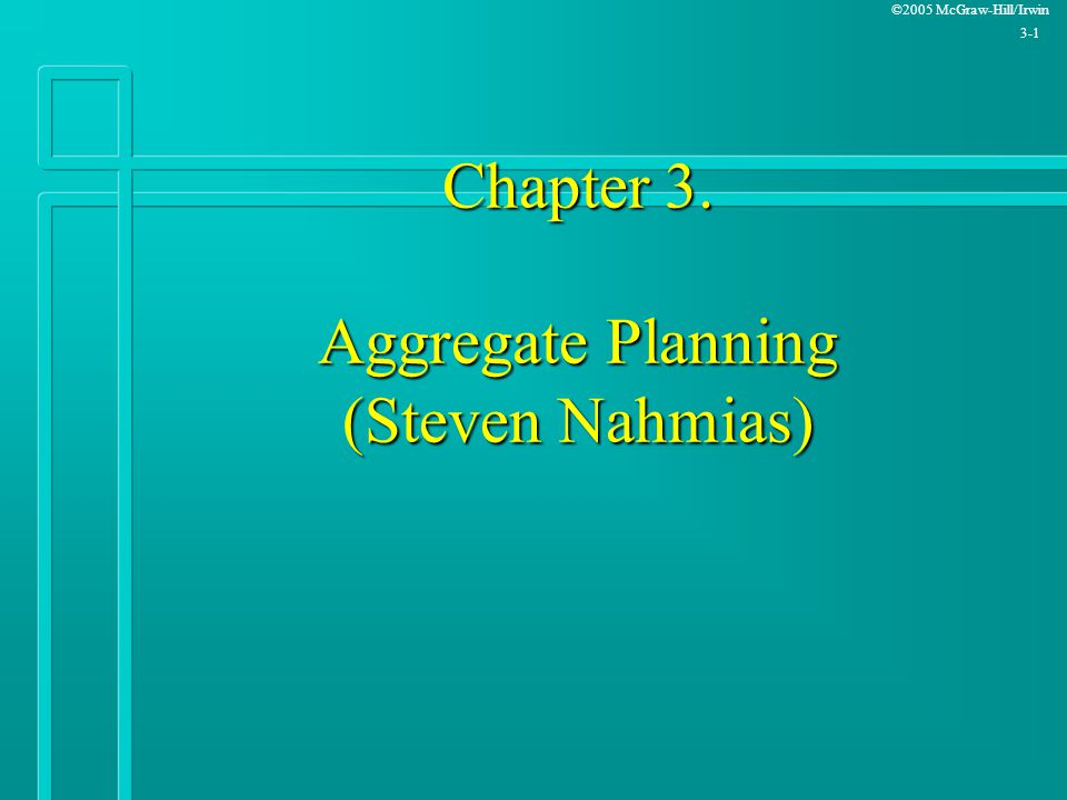 Production And Operations Analysis Steven Nahmias Pdf