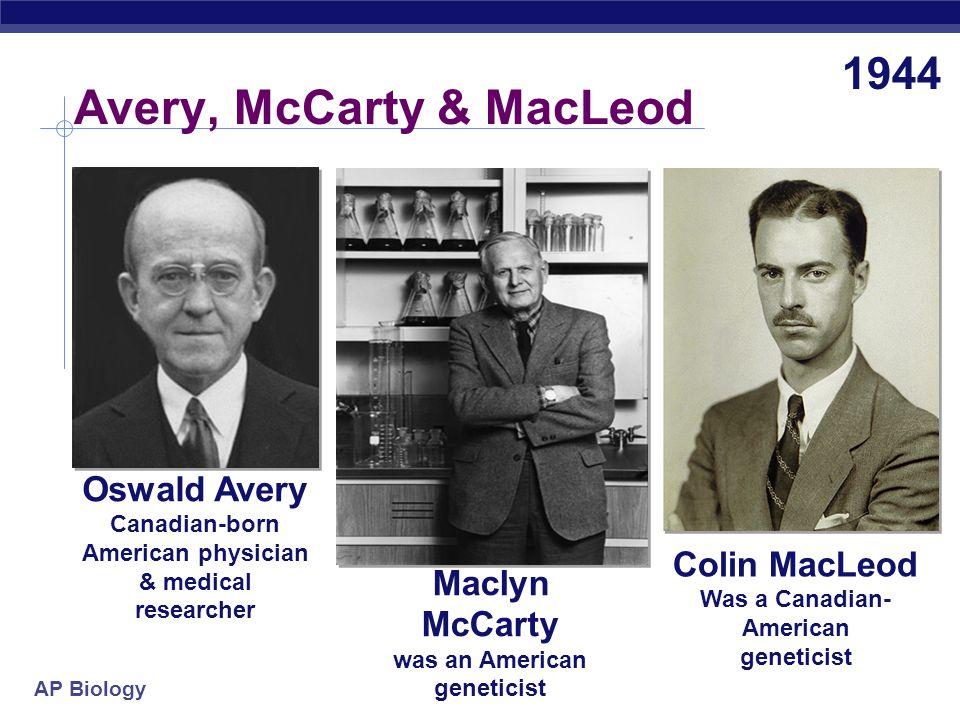 Avery, McCarty & MacLeod