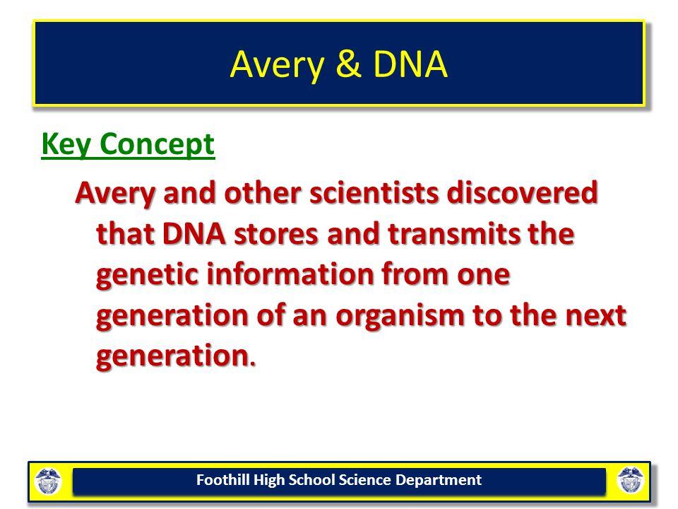Avery & DNA