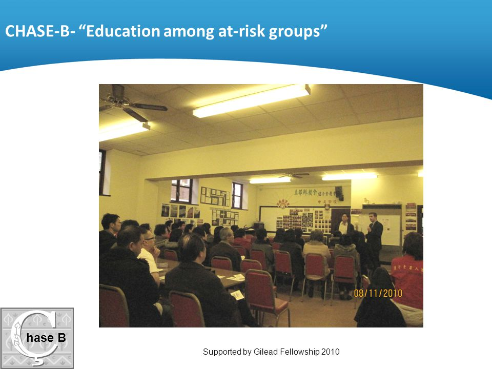 CHASE-B- Education among at-risk groups