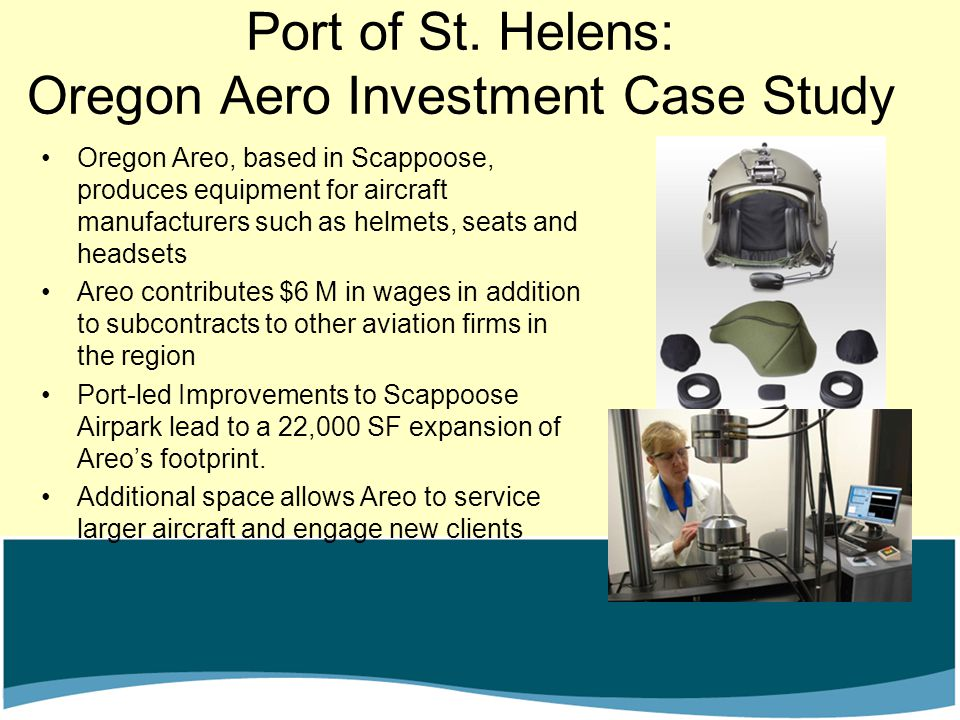 Port of St. Helens: Oregon Aero Investment Case Study