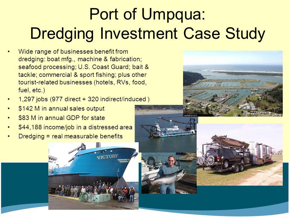 Port of Umpqua: Dredging Investment Case Study