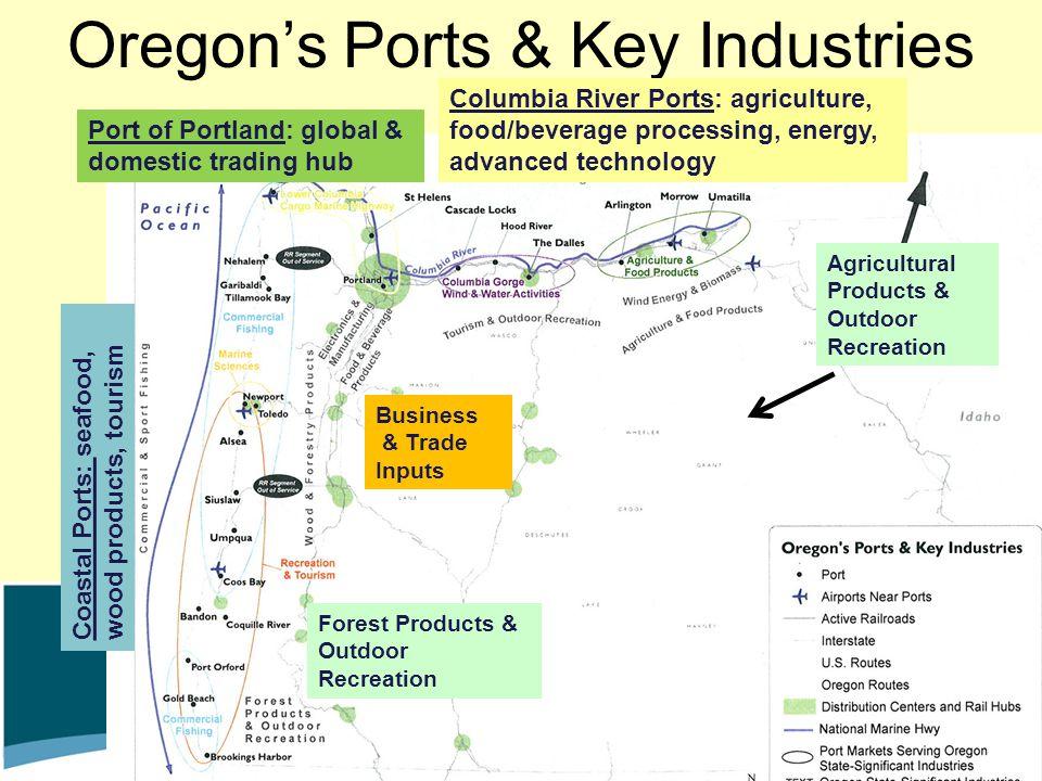 Oregon's Ports & Key Industries
