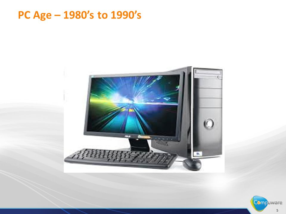 PC Age – 1980's to 1990's