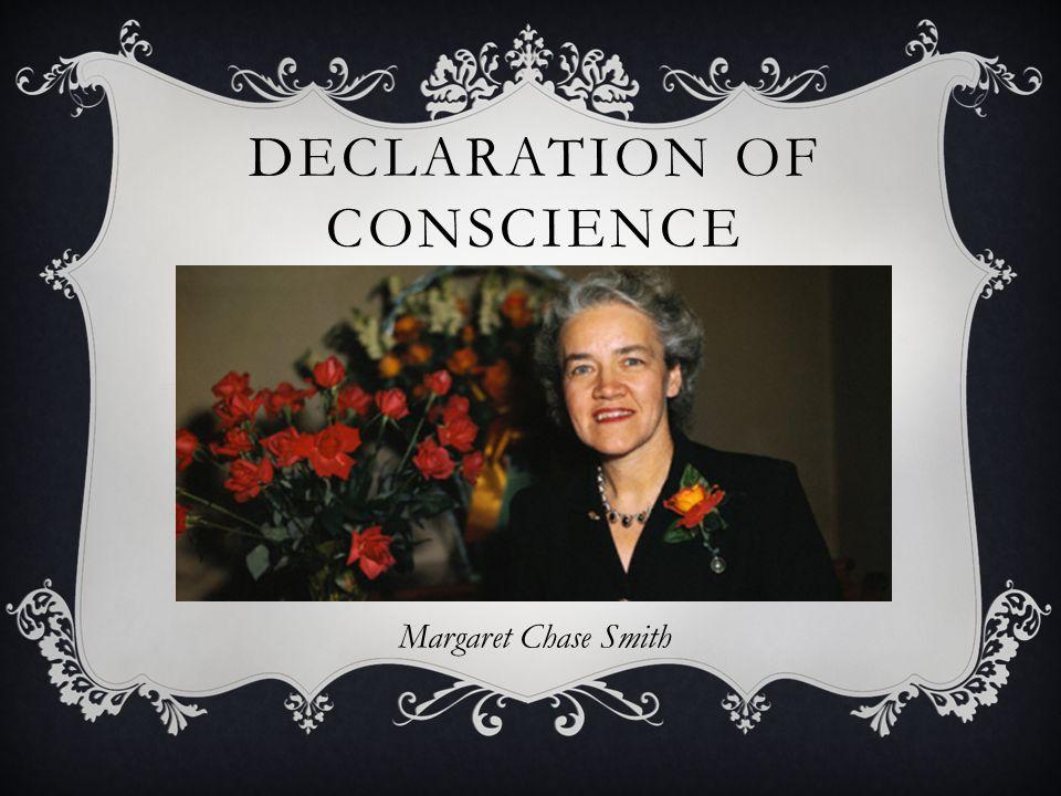 Declaration of Conscience