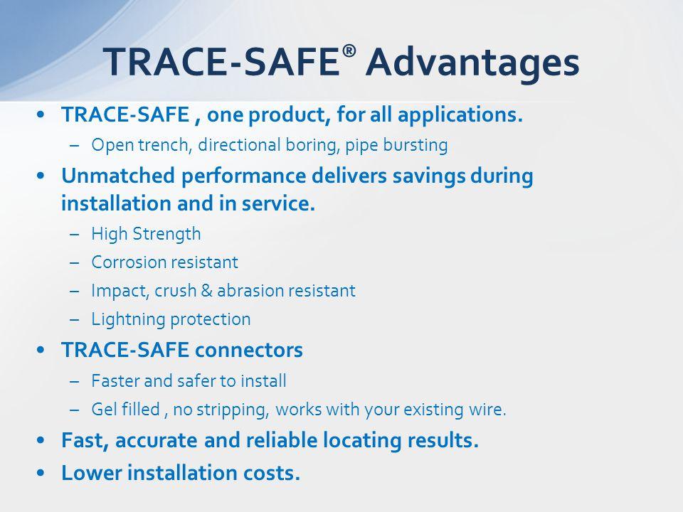 TRACE-SAFE® Advantages