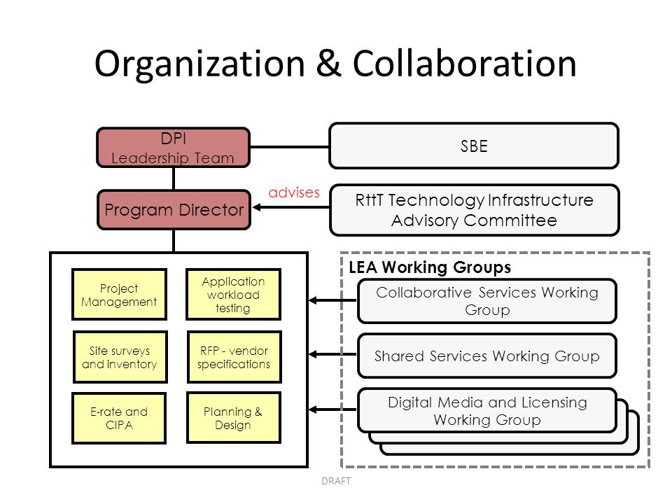 Organization & Collaboration