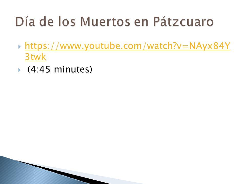 Día de los Muertos en Pátzcuaro