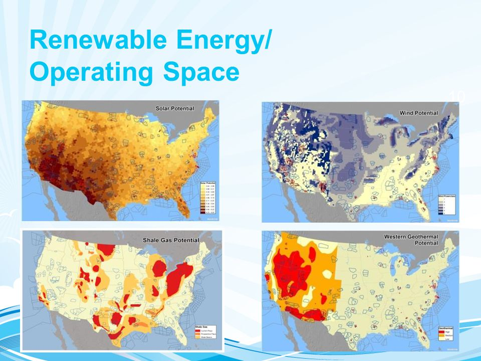 Renewable Energy/ Operating Space
