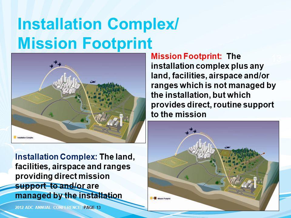 Installation Complex/ Mission Footprint